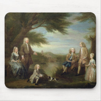John and Elizabeth Jeffreys and their Children, 17 Mouse Pad