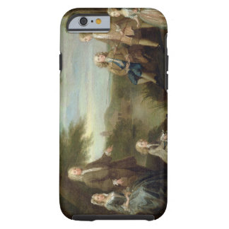 John and Elizabeth Jeffreys and their Children, 17 Tough iPhone 6 Case