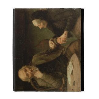 John Anderson, My Jo, 1894 (oil on canvas) iPad Folio Case