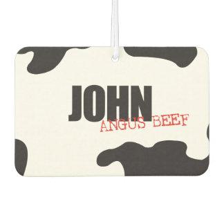 "John ""Angus Beef"" Trendy Air Freshener"