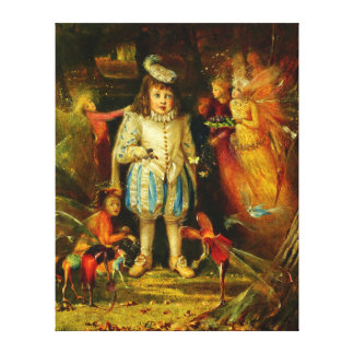 John Anster Fitzgerald: Fairyland Canvas Print