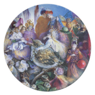 John Anster Fitzgerald: The Fledgling Dinner Plate