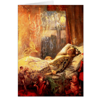John Anster Fitzgerald: The Stuff That Dreams ... Greeting Card