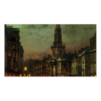 John Atkinson Grimshaw- Blackman Street, London Business Card Templates