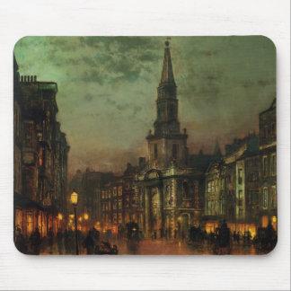John Atkinson Grimshaw- Blackman Street, London Mouse Pad