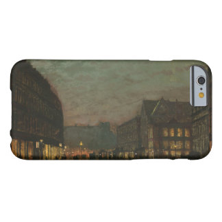 John Atkinson Grimshaw - Boar Lane, Leeds, by Lamp Barely There iPhone 6 Case