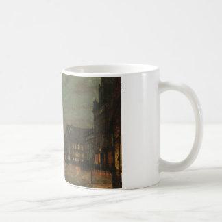 John Atkinson Grimshaw - Boar Lane, Leeds Coffee Mug
