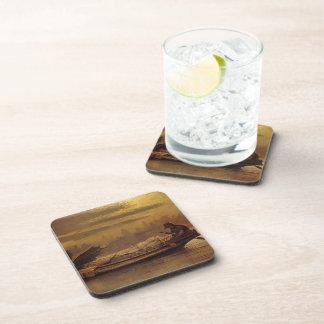 John Atkinson Grimshaw- Elaine Drink Coasters