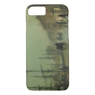John Atkinson Grimshaw - Glasgow Docks iPhone 7 Case