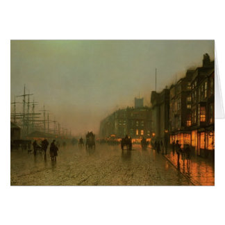 John Atkinson Grimshaw- Liverpool from Wapping Card