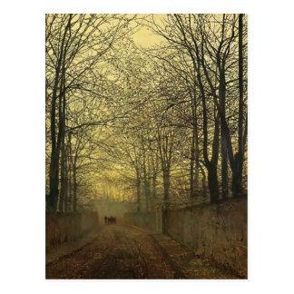 John Atkinson Grimshaw- October Gold Post Cards