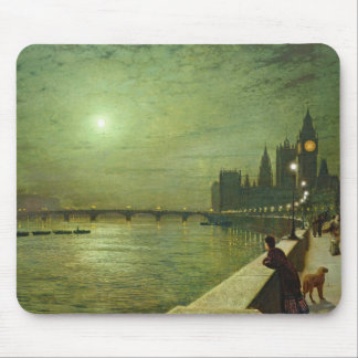 John Atkinson Grimshaw - Reflections on the Thames Mouse Pad