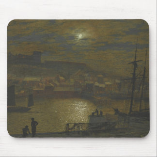 John Atkinson Grimshaw - Whitby from Scotch Head Mouse Pad