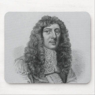 John Aubrey, engraved by Charles Eden Wagstaff Mouse Pad