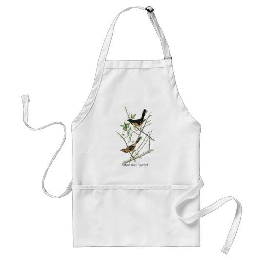 John Audubon Rufous-sided Towhee Adult Apron
