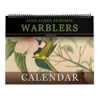 John Audubon Warblers Birds of America Calendar