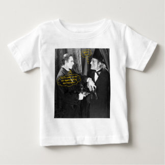 John Barrymore and Gustav von Seyffertitz Sherlock Baby T-Shirt