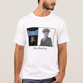 John Basilone and The Medal of Honor T-Shirt