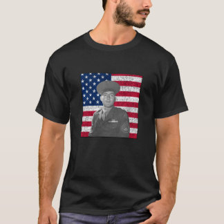 John Basilone and The US Flag T-Shirt