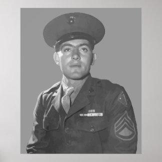 John Basilone -- Medal of Honor Recipient Poster