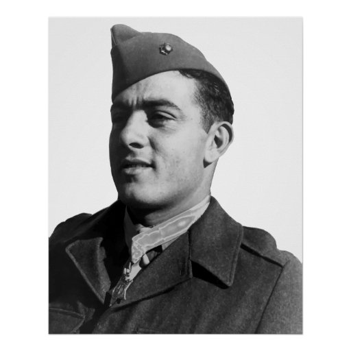 John Basilone -- WW2 Hero Posters