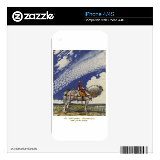 John Bauer - Into the Wide World Decal For iPhone 4