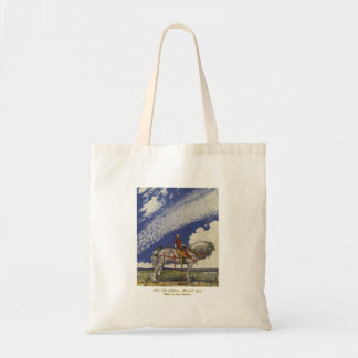 """John Bauer - """"Into the Wide World"""" Tote Bag"""