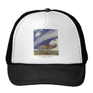 "John Bauer - ""Into the Wide World"" Trucker Hat"
