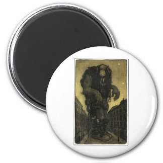 John Bauer Fridge Magnet