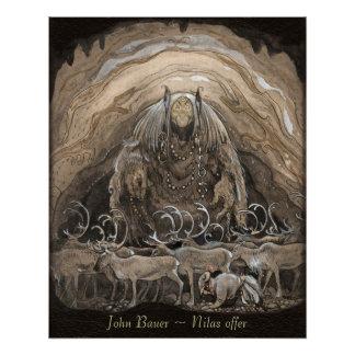 John Bauer Nilas offer CC0499 Poster