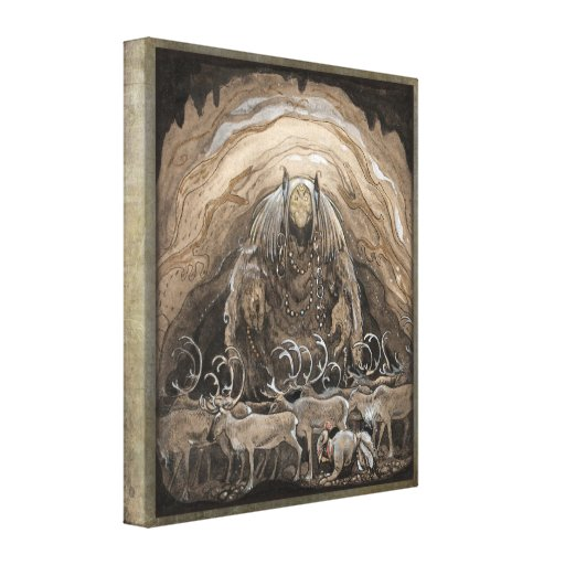 John Bauer Nilas offer CC0500 Wrapped Canvas