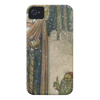 John Bauer - Princess and Troll iPhone 4 Case-Mate Case