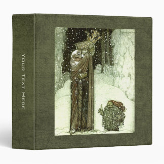 John Bauer The Princess and the Troll 3 Ring Binder