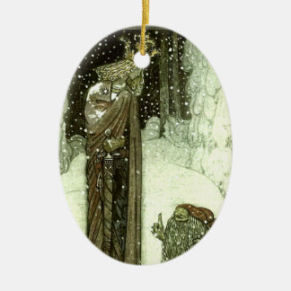 John Bauer The Princess and the Troll Ceramic Ornament