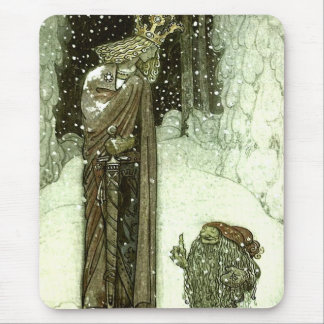 John Bauer The Princess and the Troll Mouse Pad