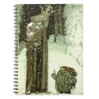 John Bauer The Princess and the Troll Notebook