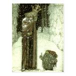 John Bauer The Princess and the Troll Postcard