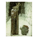 John Bauer The Princess and the Troll Poster