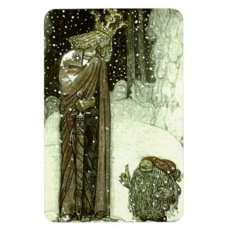 John Bauer The Princess and the Troll Rectangular Photo Magnet