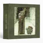 John Bauer The Princess and the Troll Vinyl Binder