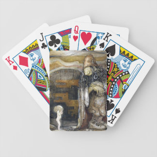John Bauer Troll Bicycle Playing Cards