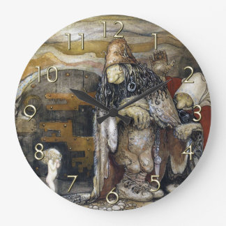 John Bauer Troll Wall Clock