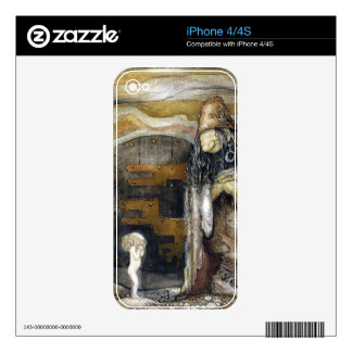 John Bauer Troll Skins For iPhone 4S