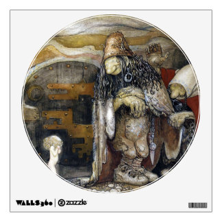 John Bauer Troll Wall Sticker