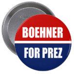 JOHN BOEHNER 2012 4 INCH ROUND BUTTON