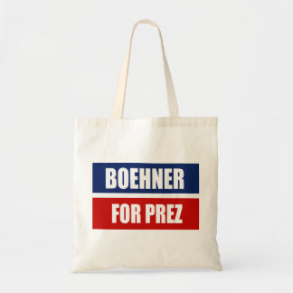 JOHN BOEHNER 2012 CANVAS BAG