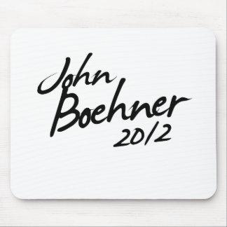 JOHN BOEHNER AUTOGRAPH 2012 MOUSE PAD