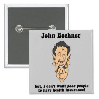 John Boehner 2 Inch Square Button