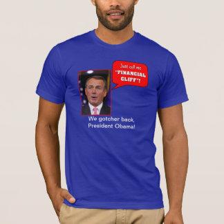 """John Boehner """"Cliff"""" T-Shirt"""