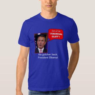 "John Boehner ""Cliff"" T-shirts"